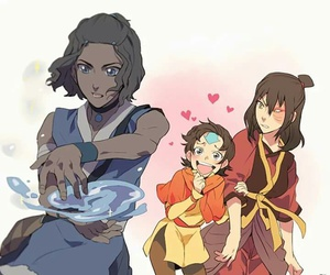 avatar, aang, and zuko image