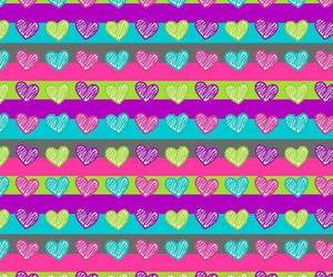 colorful, colors, and corazones image