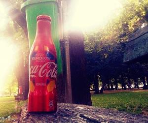 coca cola, drink, and summer image