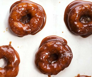 caramel, donuts, and sweets image