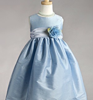 blue, organza, and style image