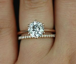 ring and engagement ring image