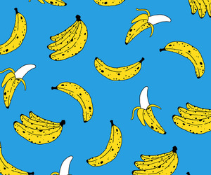 banana and pattern image