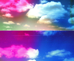 blue, photography, and cloud image