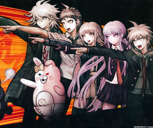 anime and dangan ronpa image