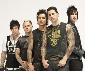 avenged sevenfold, m. shadows, and syn gates image