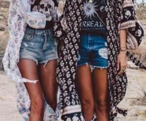 fashion and boho chic style image