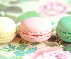 macaroons, sweet, and wallpaper image