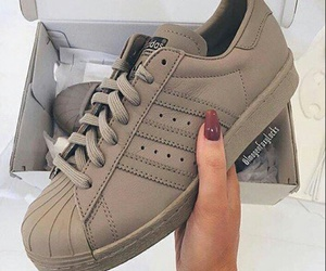 adidas, shoes, and nails image