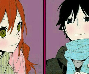 edited, manga, and horimiya image