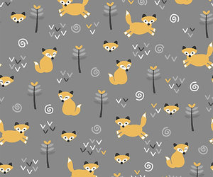 foxes, foxy, and illustration image