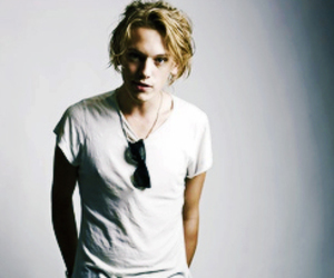 Jamie Campbell Bower and the mortal instruments image