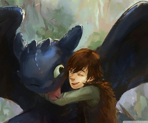 toothless and hiccup image