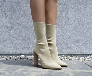 white, aesthetic, and boots image