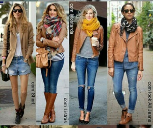 fall, outfit, and otoño image