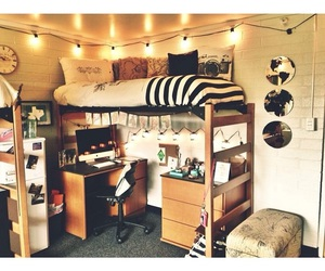 lights, room, and cute image