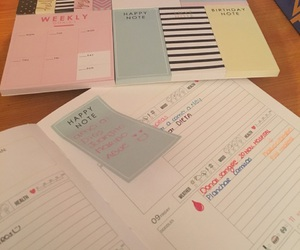 agenda, notes, and plan image