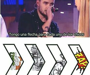 one direction español, liam, and one direction image