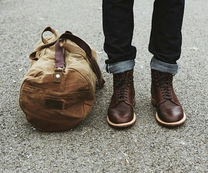 aesthetic, bag, and travel image