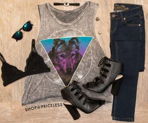 fashion, jeans, and summer image