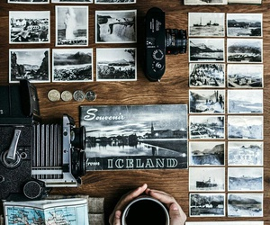 travel, photography, and coffee image