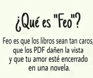 book, frases, and feo image