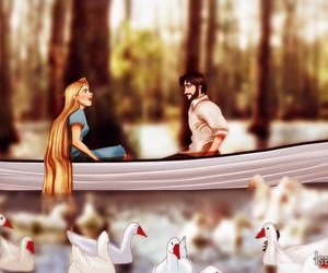 the notebook, disney, and rapunzel image