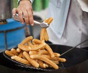 food, churros, and churro image