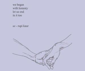 quotes, honesty, and rupi kaur image
