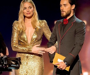 margot robbie, jared leto, and suicide squad image