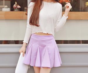 kfashion and korean fashion image