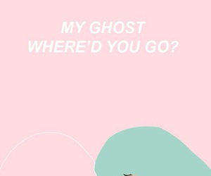 wallpaper, ghost, and halsey image