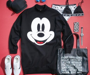 clothes, mikey mouse, and fashion image