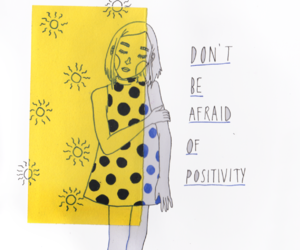 yellow, art, and positivity image