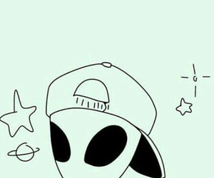 alien, tumblr, and 👽 image