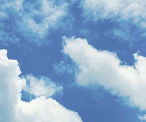 blue, clouds, and pattern image