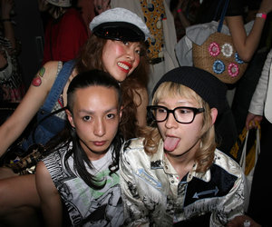 house party, japan, and friends image