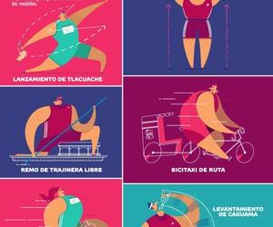 mexico, pictoline, and olimpiadas image
