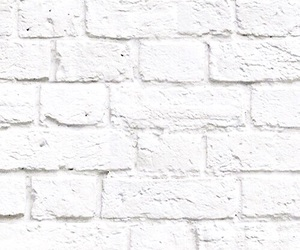 brick wall and white image