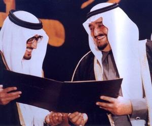 الملك فهد, saudi, and خالد الفيصل image