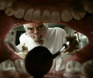 charlie and the chocolate factory, christopher lee, and Dental image