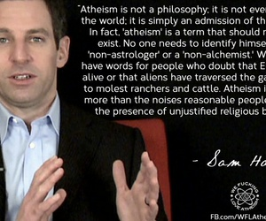 atheism, obvious, and quote image