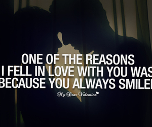 smile, love, and Relationship image