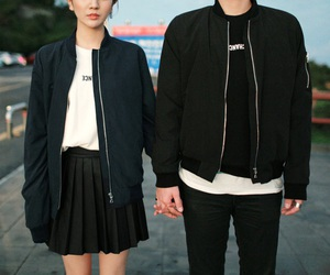 couple, black, and fashion image