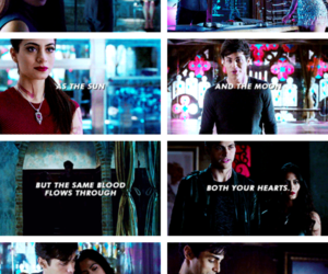 the mortal instruments, isabelle lightwood, and shadowhunters image