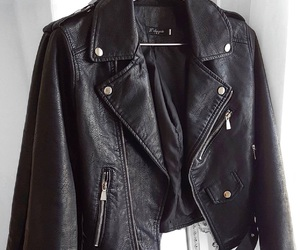 fashion, jacket, and girl image