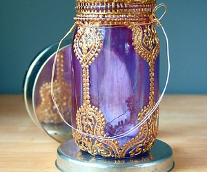 diy and purple image