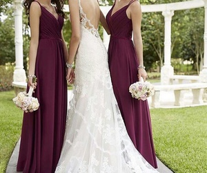 wedding, wedding dresses, and dress image