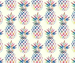 ananas, pattern, and patterns image
