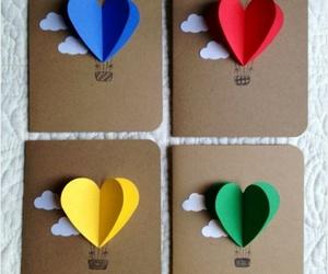 love, diy, and card image